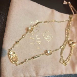 Kendra Scott Maddie necklace in gold